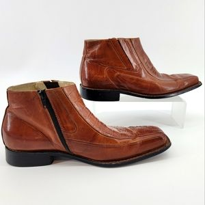 STACY ADAMS LEATHER MEN SHOES